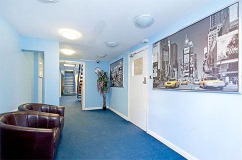 Arcadia Avenue N3 office space – Hallway