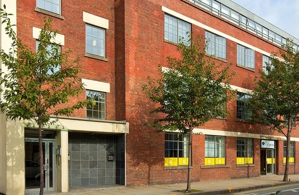 Wharfdale Road WC1 office space – Building External
