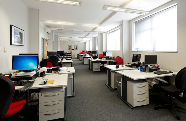 Wharfdale Road WC1 office space – Private Office (different sizes available).