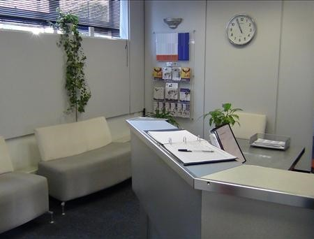 North Circular Road NW2, NW4 office space – Reception