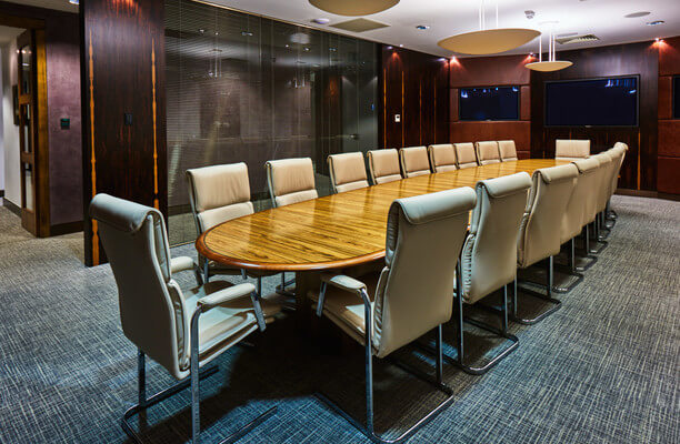 Snow Hill EC1 office space – Meeting/Boardroom.