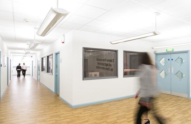 Atlantic Street WA14 office space – Hallway