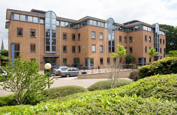 Castle Park CB1 office space – Building External
