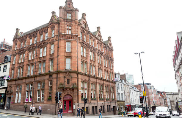 Mosley Street NE1 office space – Building External