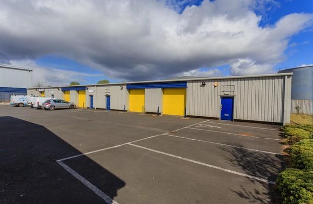 Glasgow Business Park G1 office space – Building External