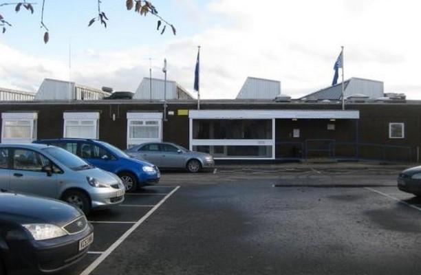 Earls Road FK3 office space – Building External