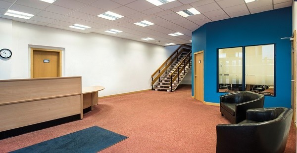 Mitchelston Drive KY1, KY2 office space – Reception