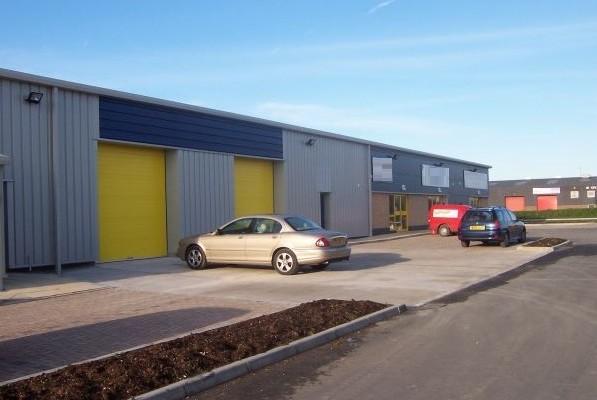 Deeside Industrial Estate CH5 office space – Building External