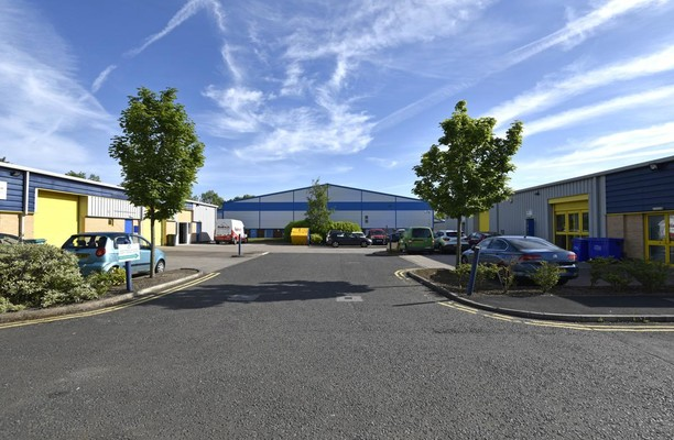 Belmont Industrial Estate office space – Building External