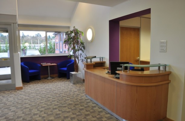 Hartwith Way HG1 office space – Reception