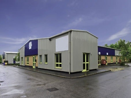 Enterprise Close office space – Building External
