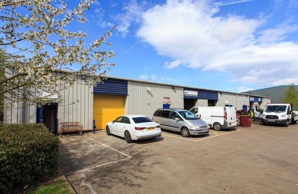 Enterprise Close NG18 office space – Building External