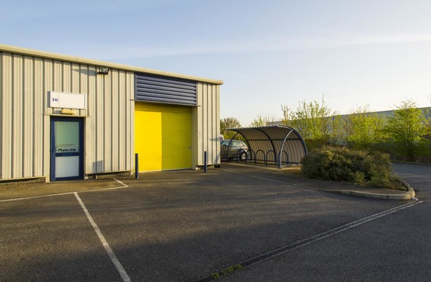 Culley Court PE1 office space – Building External
