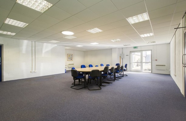 Culley Court PE1 office space – Meeting/Boardroom.