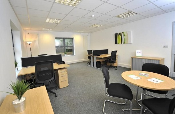 Butterfield LU1 office space – Private Office (different sizes available).
