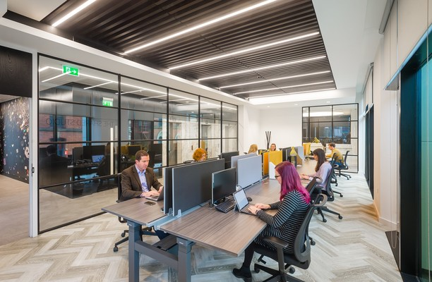 Charlotte Street M1 office space – Shared Office