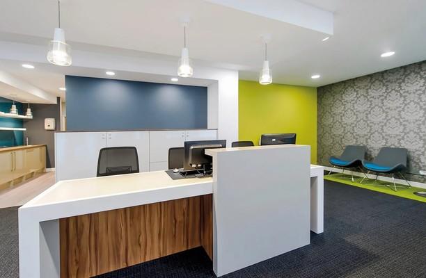 Midsummer Boulevard MK1 office space – Reception