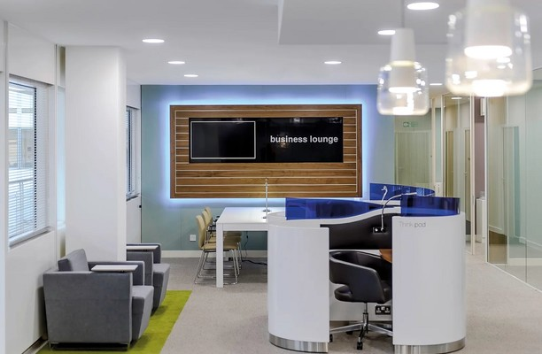 Midsummer Boulevard MK1 office space – Break Out Area