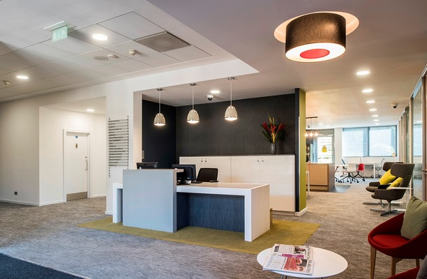 Robert Robinson Avenue OX1 office space – Reception