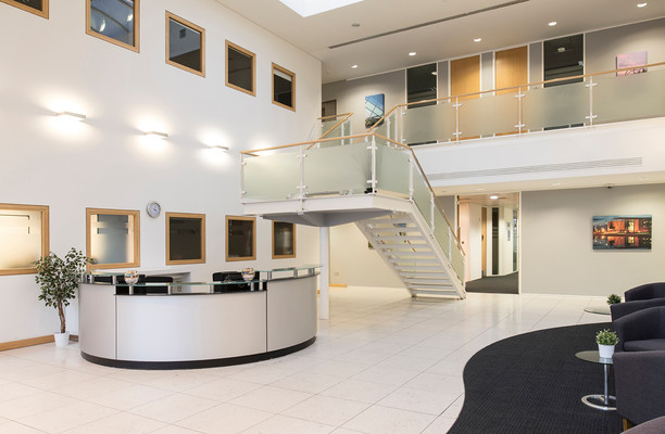 Cambourne Business Park CB1 office space – Reception
