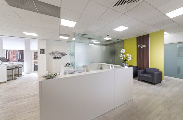 Buchanan Steet G1 office space – Reception