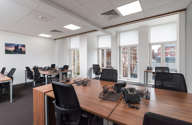 Buchanan Steet G1 office space – Private Office (different sizes available).