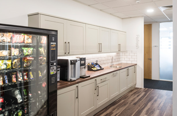 Kingsmead Business Park HP10, HP15 office space – Kitchen
