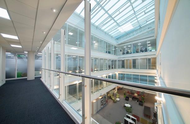 Titan Court AL10 office space – Atrium