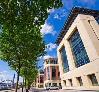 Quayside NE1 office space – Building External