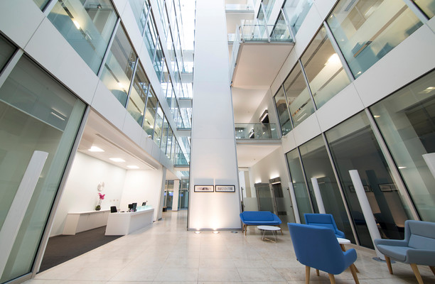 Forbury Square RG1, RG2, RG4, office space – Reception