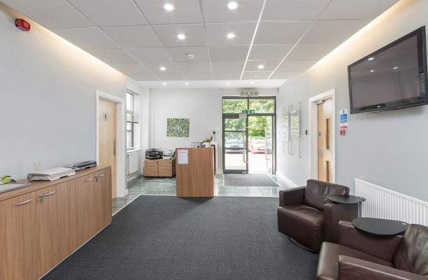 Crab Lane WA1 office space – Reception