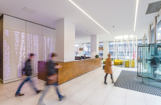 Portland Street M1 office space – Reception