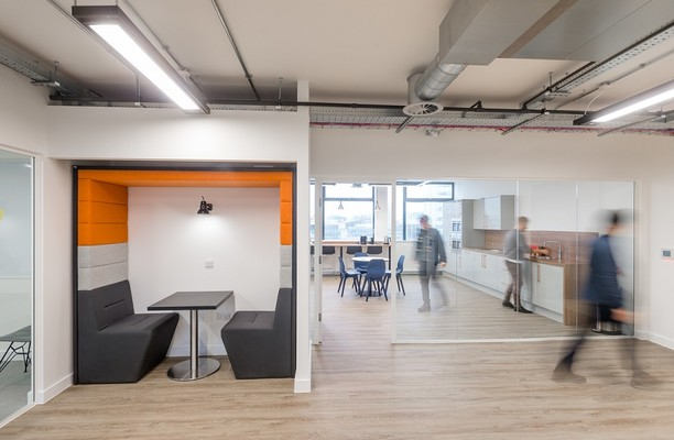 Portland Street M1 office space – Break Out Area