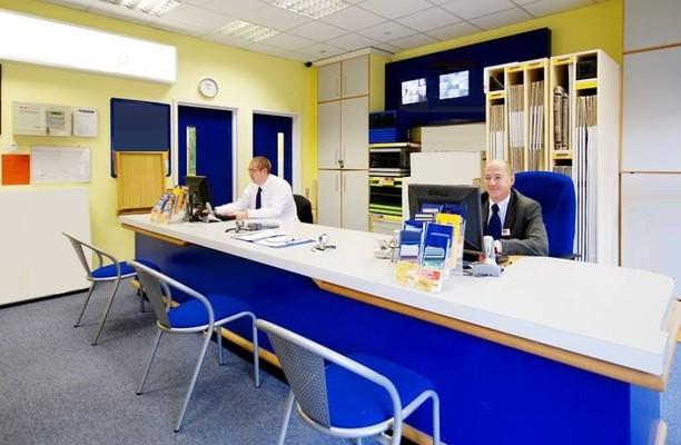 Bellotts Road BA1 office space – Reception