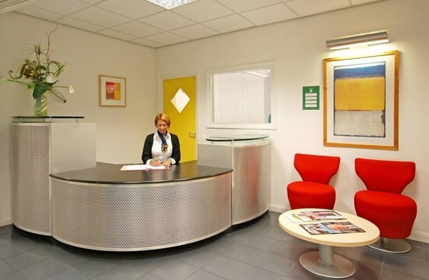 Norfolk Street L2 office space – Reception