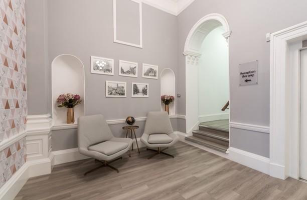 George Street office space – Foyer