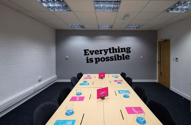 Percy Street LS1 office space – Meeting/Boardroom.