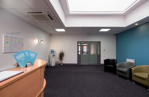 Tunstall Road LS1 office space – Reception