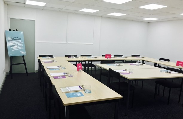 Tunstall Road LS1 office space – Meeting/Boardroom.