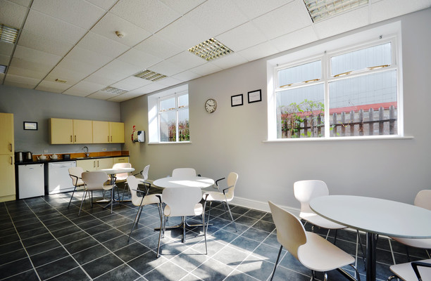Tunstall Road LS1 office space – Kitchen