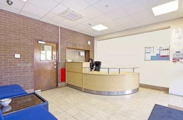 Cumberland Avenue NW10 office space – Reception