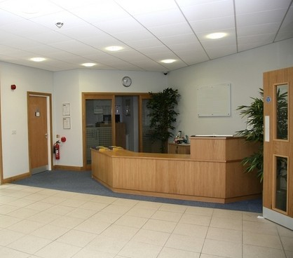 Holme Lacey Road HR1 - HR4 office space – Reception