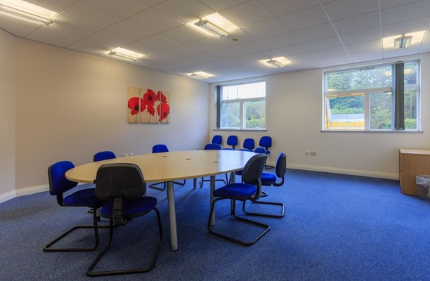 Holme Lacey Road HR1 - HR4 office space – Meeting/Boardroom.