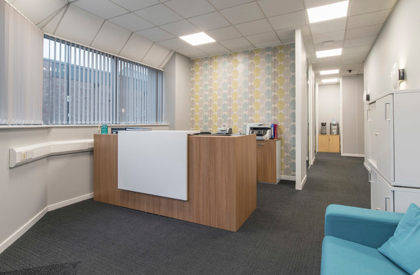 Sheffield United Football Club office space – Reception