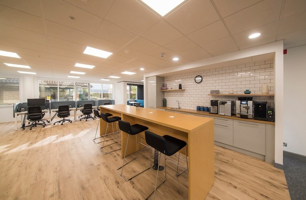 Gatehouse Way HP19, HP20, HP2 office space – Kitchen