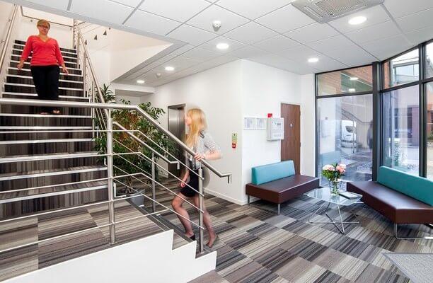 Harvest Crescent GU51 office space – Reception