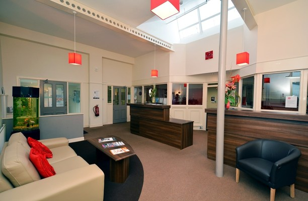 Turner Road BB9 office space – Reception