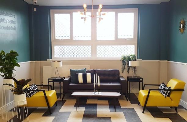 Monsall Road office space – Break Out Area
