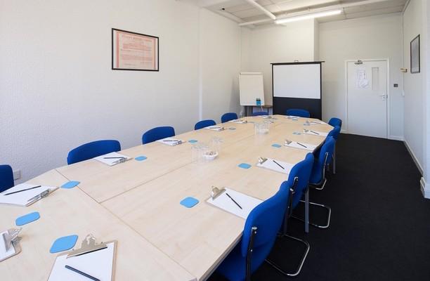 Monsall Road M2 office space – Meeting/Boardroom.