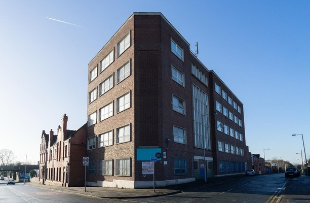 Monsall Road M2 office space – Building External